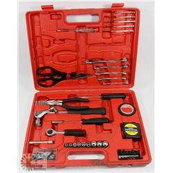 TOOLKIT IN RED CARRY CASE