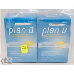 BAG OF PLAN B EMERGENCY CONTRACEPTION