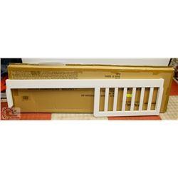 TODDLER BED CONVERSION KIT (WHITE FINISH)