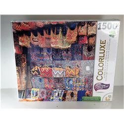 22) FACTORY SEALED 1500 PCE PUZZLE OF