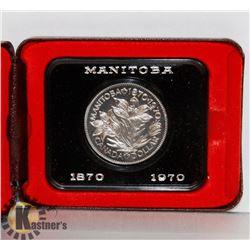 1870-1970 MANITOBA DOLLAR COIN