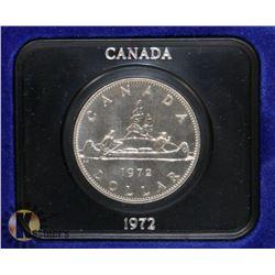 1972 CANADA DOLLAR COIN