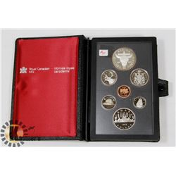 1982 CANADA PROOF CASED DOUBLE DOLLAR COINS SET