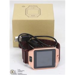 NEW COPPER BLUETOOTH SMARTWATCH W/CAMERA