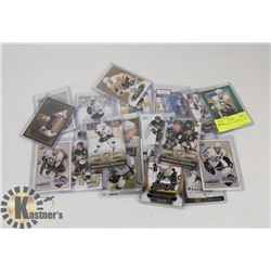 LOT OF 21 SIDNEY CROSBY HOCKEY CARDS