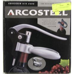 ARCOSTEEL CORKSCREW WITH STAND