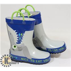 CHILDREN'S RUBBER BOOTS SIZE 7