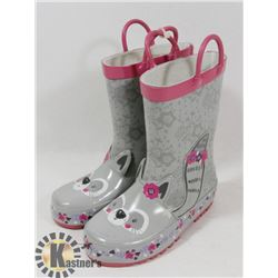CHILD RUBBER BOOTS SIZE 10