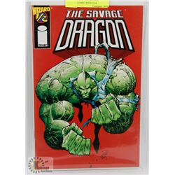 WIZARD 1 OF 2  THE SAVAGE DRAGON COMIC WITH COA