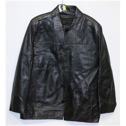 BAZIK NOIR LEATHER JACKET SIZE S