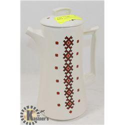 UKRAINIAN DESIGNED COFFEE POT