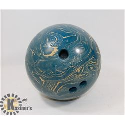 BLUE 10 PIN BOWLING BALL