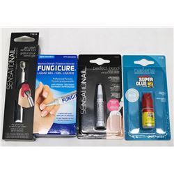 BAG OF ASST NAIL CARE PRODUCTS