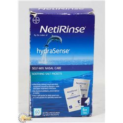 BOX OF NETIRINSE NASAL CARE