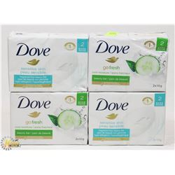 BUNDLE OF DOVE BAR SOAP