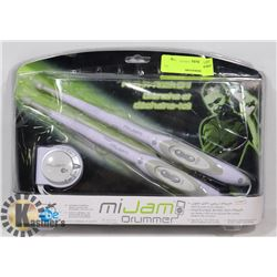 MIJAM DRUMMER SET FOR USE WITH IPOD, MP3 PLAYERS