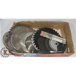 ESTATE FLAT OF SAW BLADES AND MORE