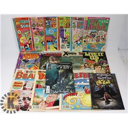 ESTATE FLAT OF ARCHIE AND OTHER COMICS