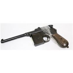 GERMAN MAUSER WWII, 9MM, OFFICER'S PISTOL, ALTERED