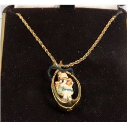 GOEBEL 10K GOLD COLLECTOR'S CLUB NECKLACE W/ 10K