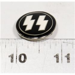 REPLICA NAZI SS PIN MARKED RZM M1/4 GES GESCH