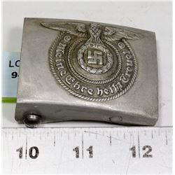 REPLICA NAZI SS BELT BUCKLE MARKED RZM M34/2