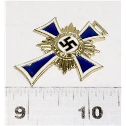 REPLICA NAZI MOTHER CROSS SIGNED 16 DECEMBER 1939