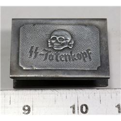 REPLICA NAZI SS TOTENKOPF MATCH HOLDER