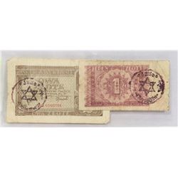 2 BANKNOTES POLISH WWII