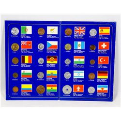 COINS OF THE WORLD N DISPLAY