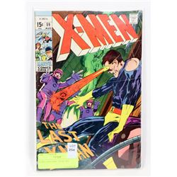 X-MEN #59 COMIC FROM 1969