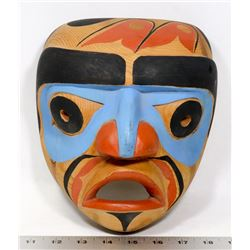 NORTHWEST COAST CARVED HAIDA MASK
