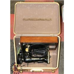 SINGER PORTABLE SEWING MACHINE IN CARRY CASE