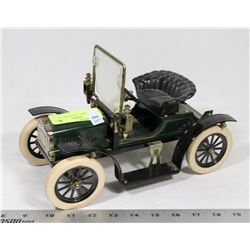 GREEN MODEL T JIM BEAM CAR.