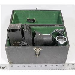 ANTIQUE MINIATURE PROJECTOR