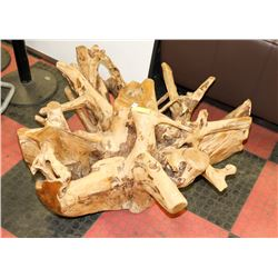 ROUGH ROOT TABLE BASE NO GLASS
