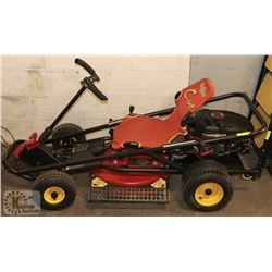 YARD WORKS GO CART MOWER, 6HP BRIGGS AND STRATTON3