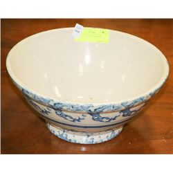 ANTIQUE SALT GLAZED BOWL