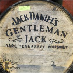 JACK DANIELS TENNESSEE HONEY LOGOED BARREL, USED