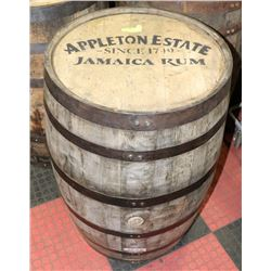 LOGOED OAK BARREL APPLETON ESTATE SINCE JAMAICA