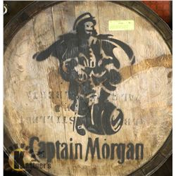 CAPTAIN MORGANS LOGOED BARREL FROM ST. CROIX US
