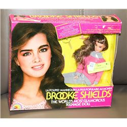 1982 BROOK SHIELDS DOLL IN PACKAGE.