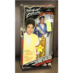1984 MICHAEL JACKSON DOLL IN PACKAGE.
