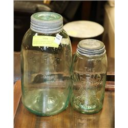 ANTIQUE CANNING JARS-THE AMERICAN & THE IMPERIAL