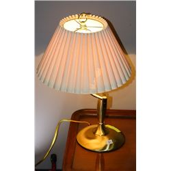 BRASS SWING ARM TABLE LAMP