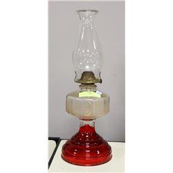 VINTAGE 1950'S OIL LAMP