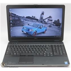 "15.6"" BUSINESS CLASS DELL LATITUDE iNTEL i5 e6540"