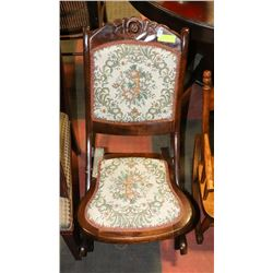 ANTIQUE MATERNITY ROCKING CHAIR