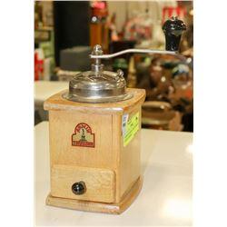 ANTIQUE GERMAN ARMIN TROSSER COFFEE GRINDER