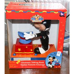 MICKEY MOUSE ELECTRONIC TALKING BANK